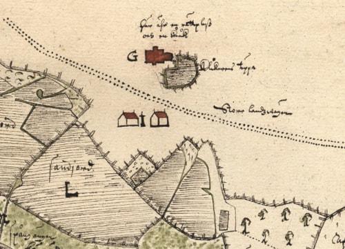 Kartskatt Pa Natet Visar Landsbygden Ar 1630 Vetandets Varld