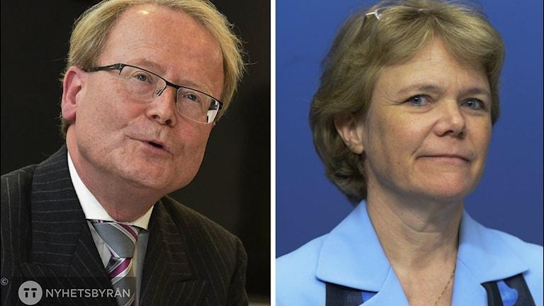 Anders Hamsten och Harriet Wallberg