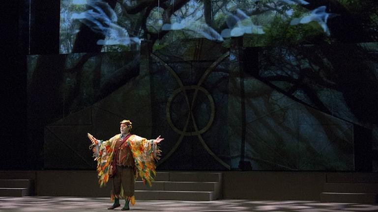 Uppsättning av Mozarts trollflöjten i Mexico