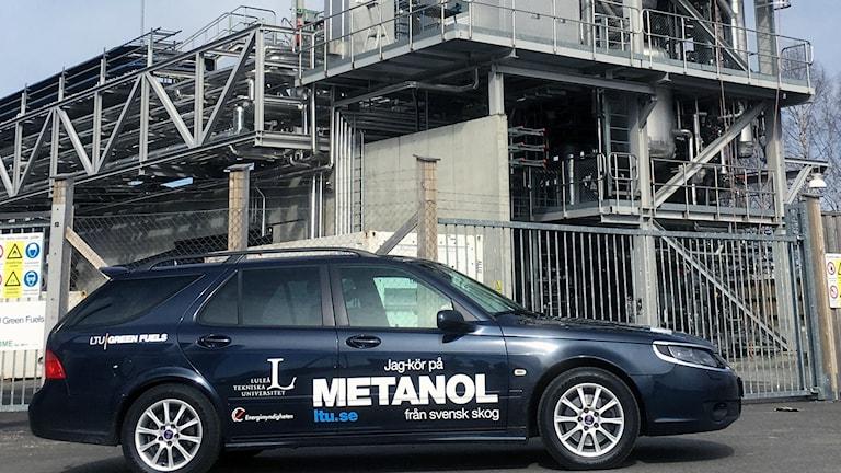 Etanolbilen som körts 1000 mil på 56% skogsmetanol.