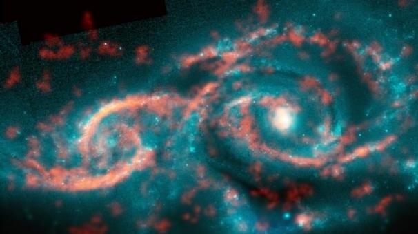 ögonformad galax