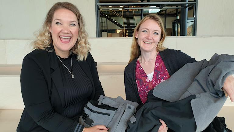 Den första svenska klädkollektionen med miljödeklarerade kläder visas upp.