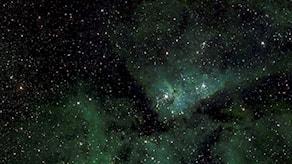 Bild av Vintergatan.