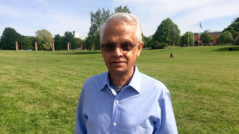 Ram Ramanathan är professor i klimatvetenskap vid University of California, och en av påvens vetenskapliga rådgivare.