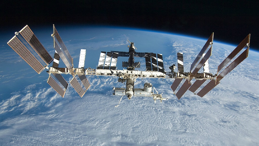 Internationella rymdstationen ISS. Foto: Nasa