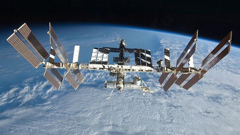 Internationella rymdstationen ISS. Foto: Nasa