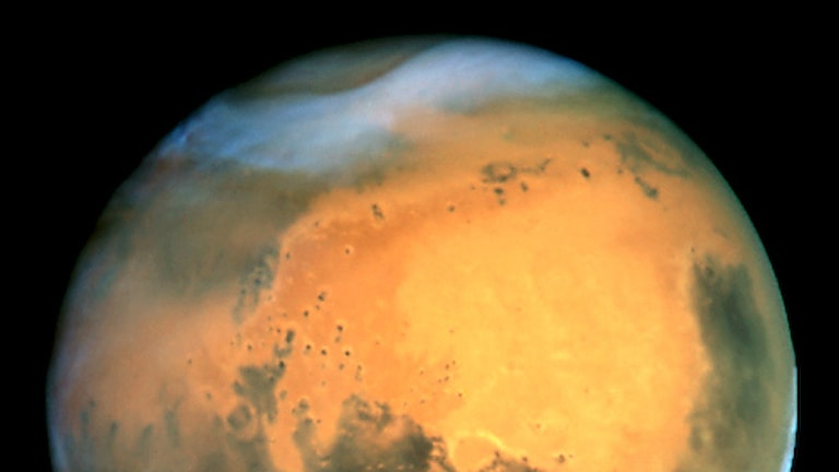 Planeten Mars. Foto, Wikimedia commons/Nasa