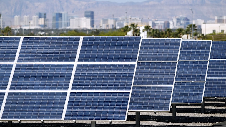solenergi i Las Vegas, USA