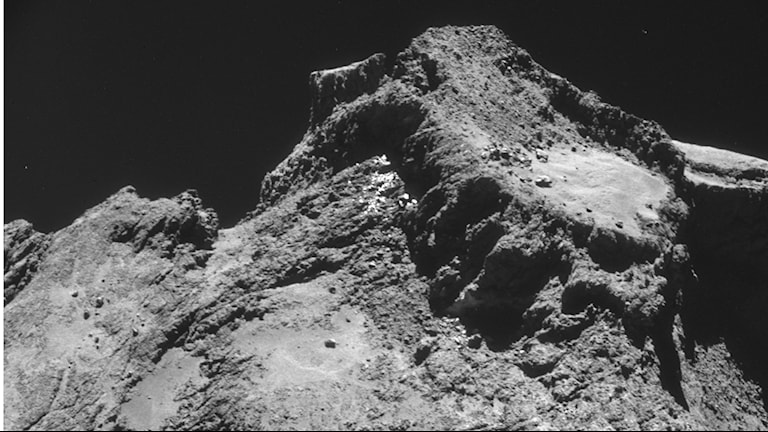 Churyumov-Gerasimenko. Foto Rosetta/ESA