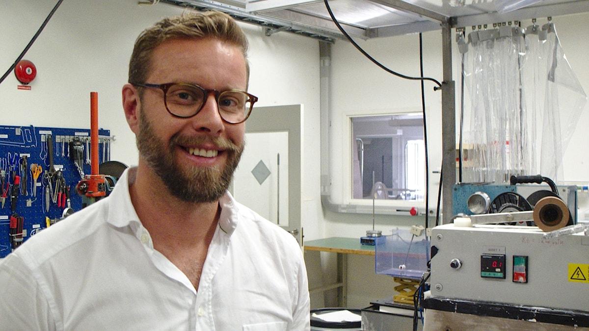Erik Perzon i labbet