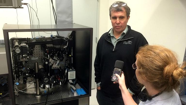 Eric Betzig i labbet