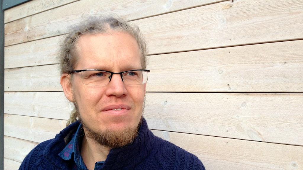 Martin Persson forskar om bla palmolja på Chalmers. Foto: Frances Sprei