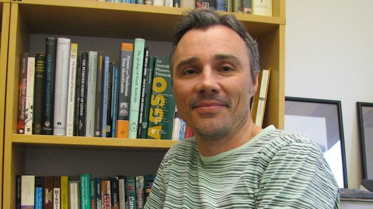 Benjamin Kear, paleobiolog vid Uppsala universitet.