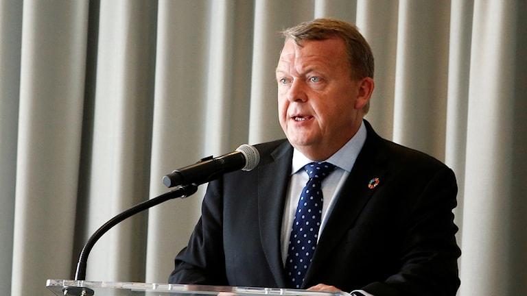 Lars Løkke Rasmussen, Danmarks statsminister.