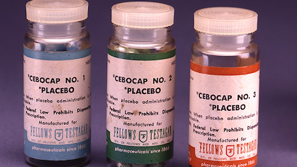 Placebopiller. Foto: Elaine and Arthur Shapiro/Wikimedia commons CC