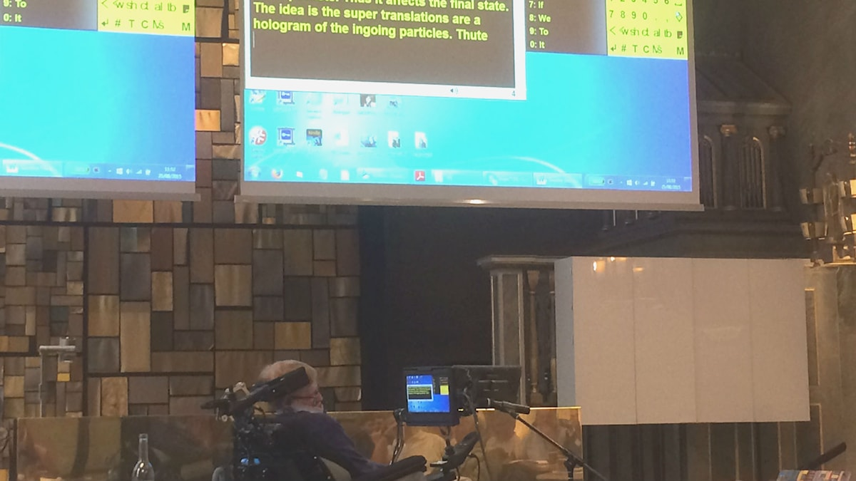 Hawking, monitor