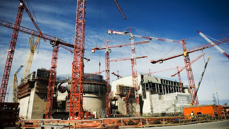 Olkiluoto kärnkraftverk. Foto Robert Henriksson/SvD/TT