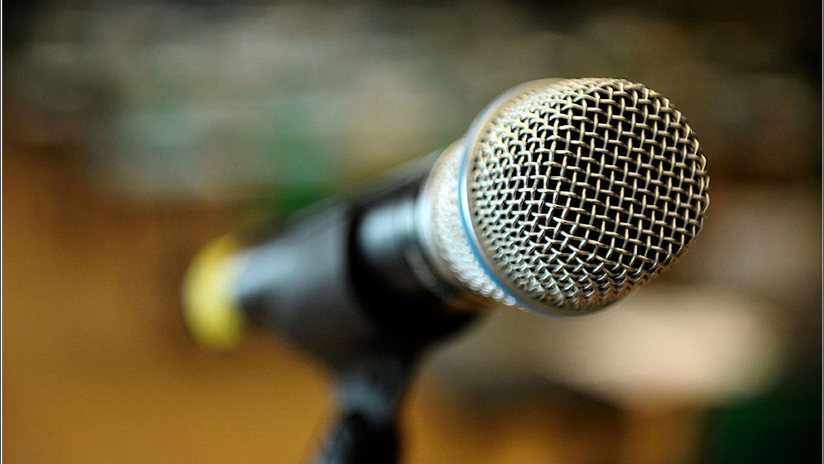 mikrofon Foto: Johannes Jansson CC BY 2.5 dk