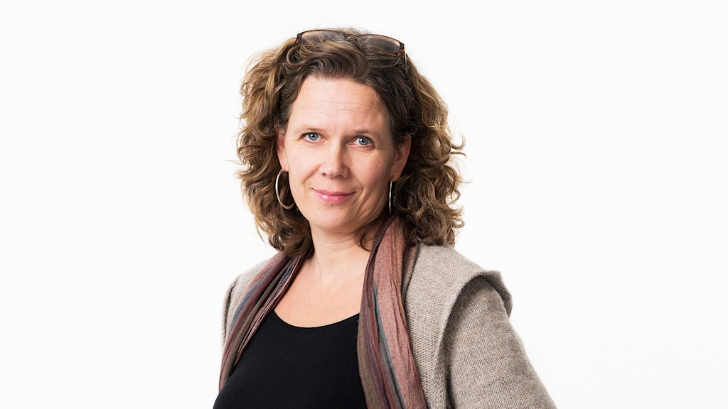 Marie-Louise Kristola. Foto: Sveriges Radio