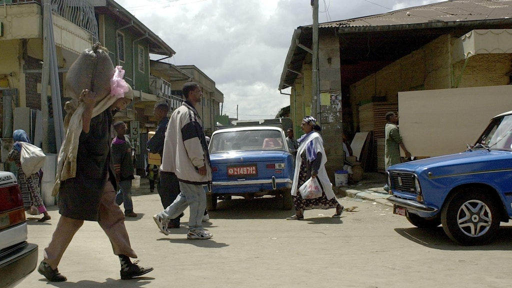 Addis Abeba i Etiopien. Foto: Leif R Jansson/TT