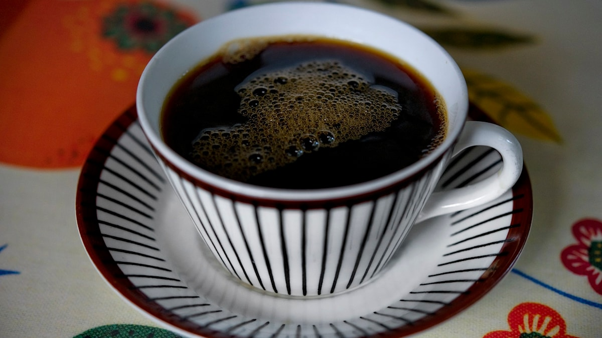 kopp med kaffe. Foto: Jessica Gow/TT