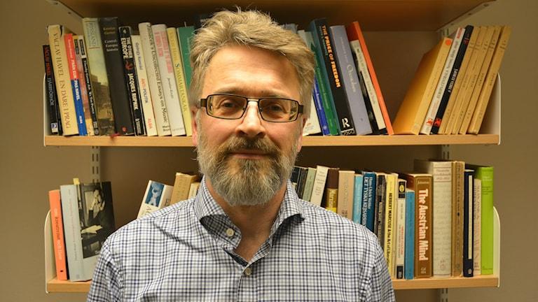Idéhistoriker Mats Andrén på Göteborgs universitet. Foto: Niklas Zachrisson/Sveriges Radio