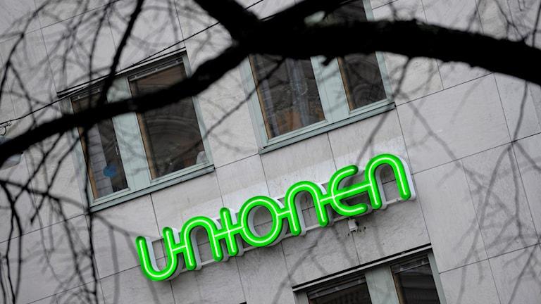 Fackförbundet Unionen. Foto: Janerik Henriksson/TT