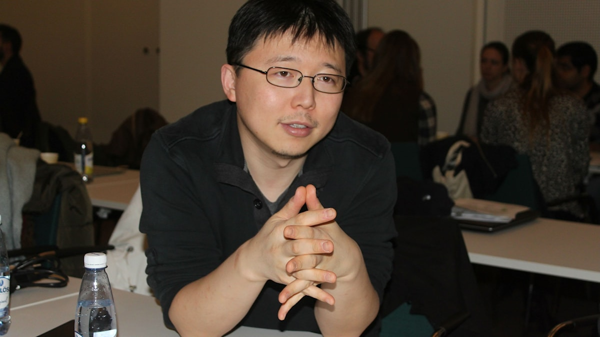 Feng Zhang. Foto: Annika Östman/SR