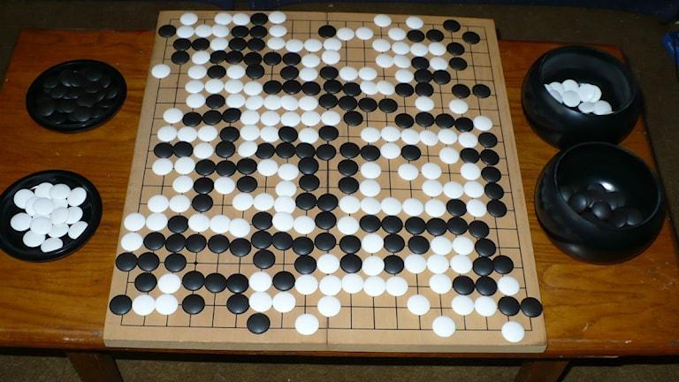 Brädspelet Go. Foto: Public domain