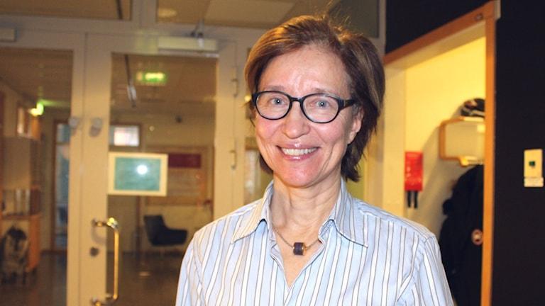 Ann Marie Jansson Lang som arbetar med kliniska prövningar på Läkemedelsverket.
