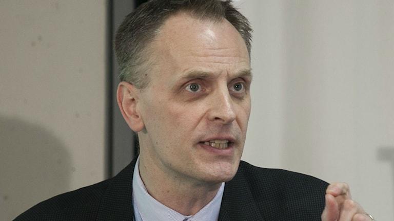 Bild på Richard Norton, chefredaktör på The Lancet.