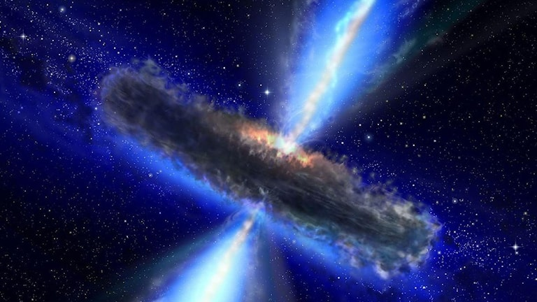 illustration svart hål