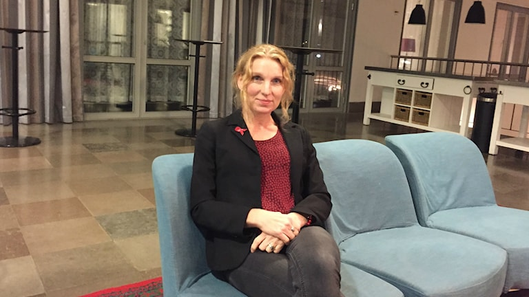 Prof. Anna Mia Ekström vid Karolinska Insitutet forskar om hiv