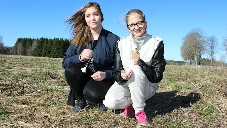 Margriet Schouten och Sandra Hagström har deltagit i Tepåseförsöket vid Tärnsjö skola.