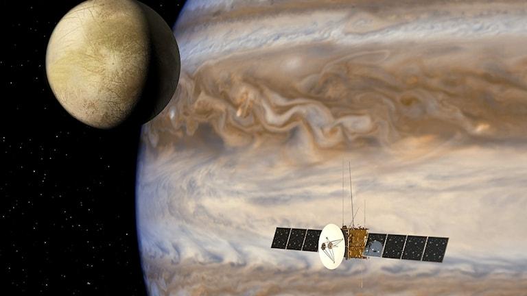 juice kretsar kring Jupiter