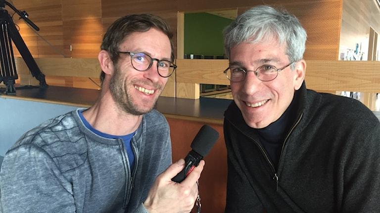 Björn Gunér och Marc Abrahams