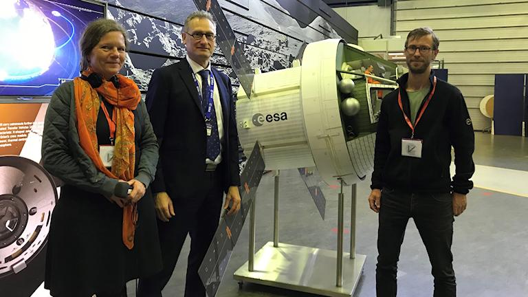 Vetenskapsradions reportrar besöker ESA