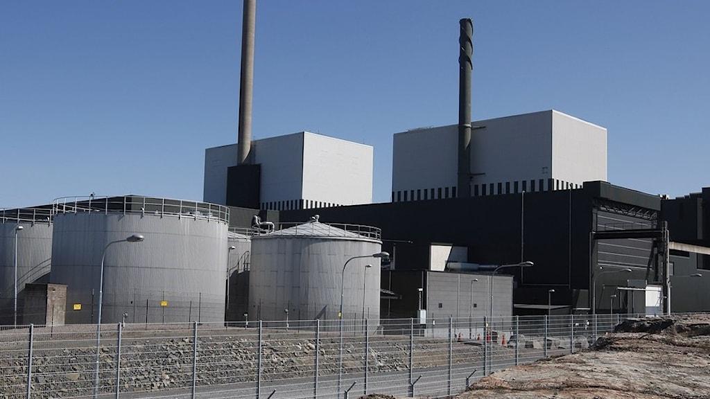 Kärnkraftsverk.