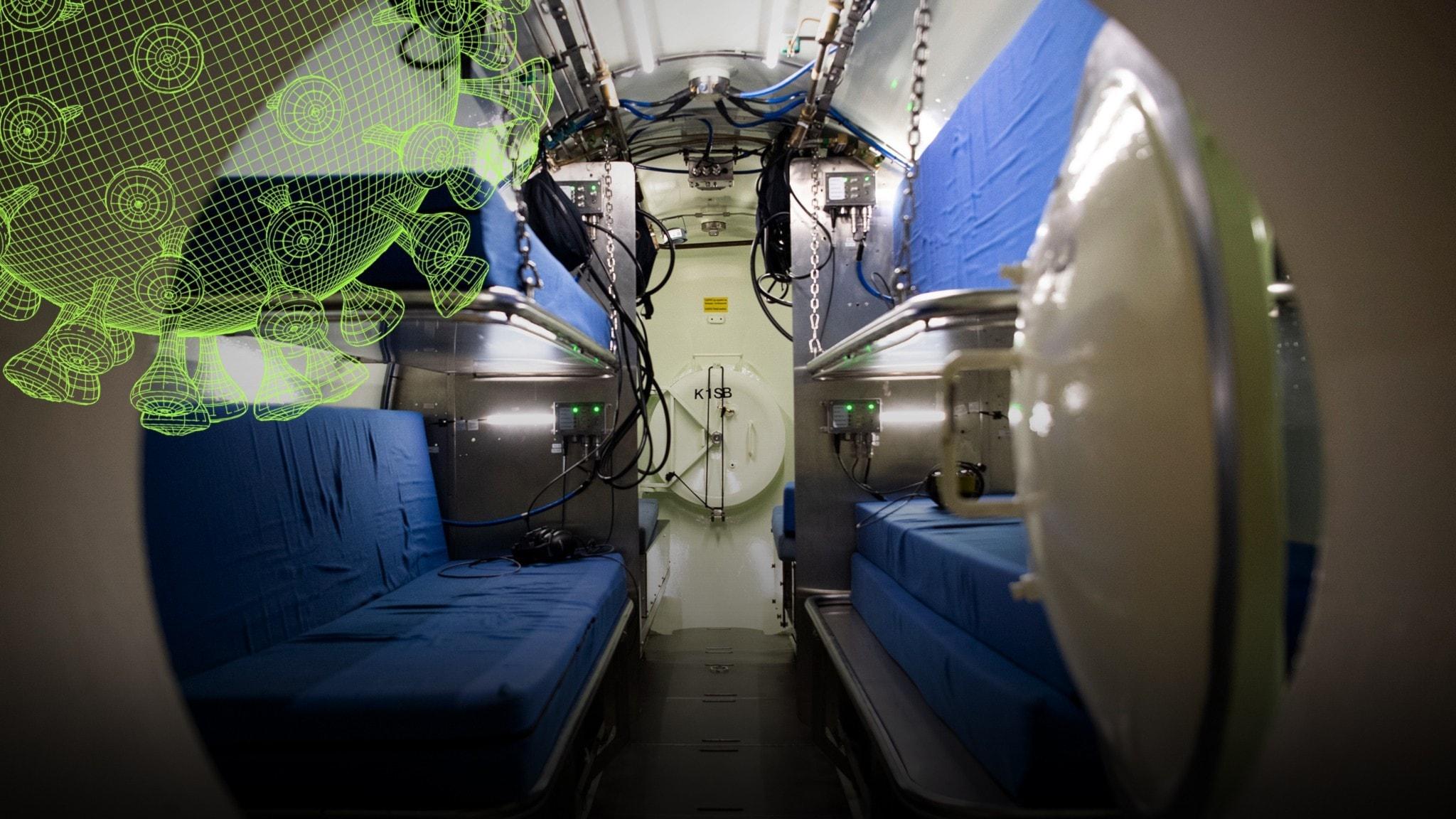Kan covid-19 behandlas med tryckkammare? - Vetenskapsradions coronaspecial
