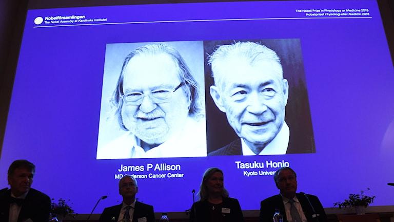 James P Allison och Tasuku Honjo