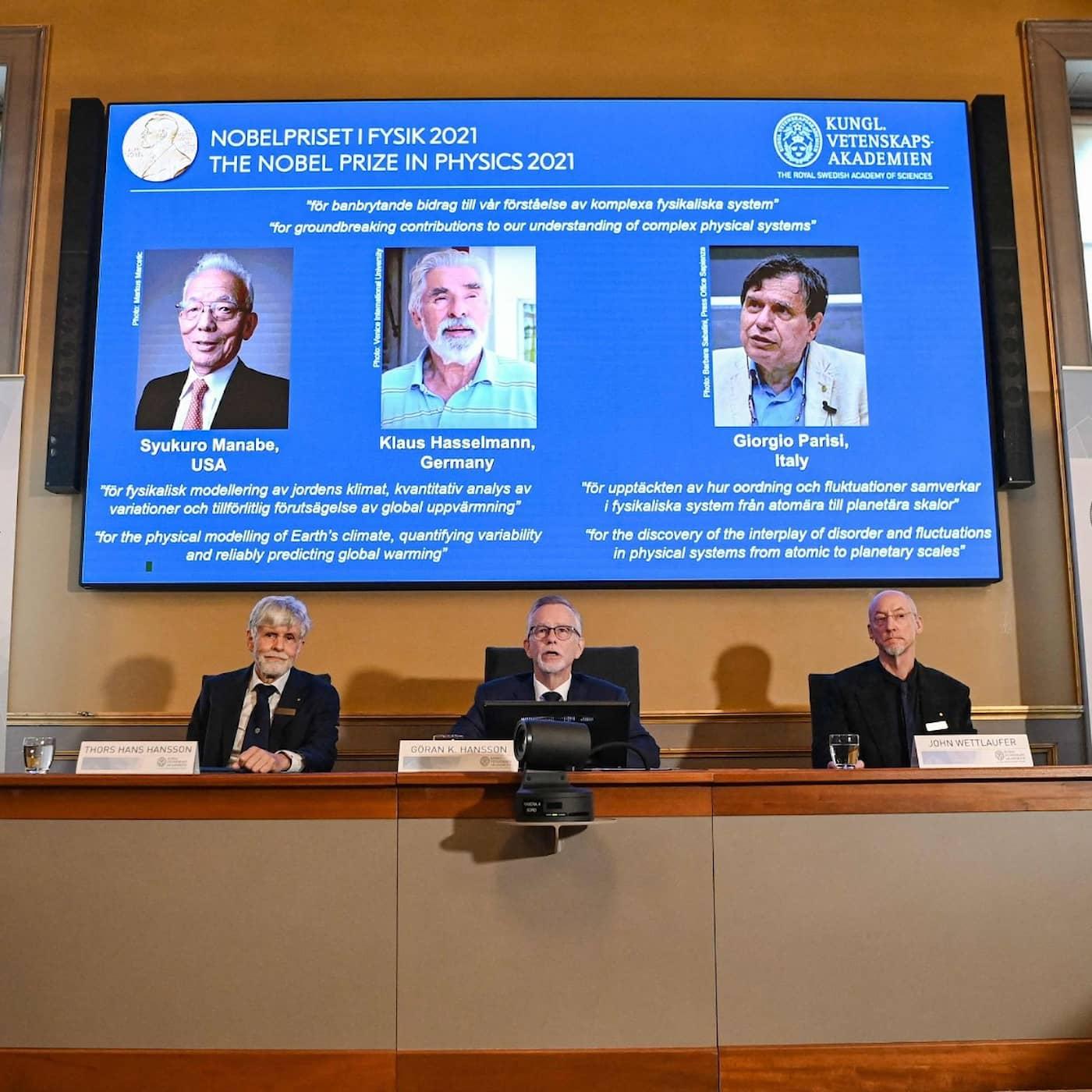 Klimatforskning får årets Nobelpris i fysik