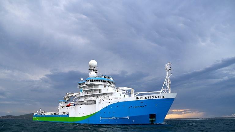 Forskningsfartyget Investigator.