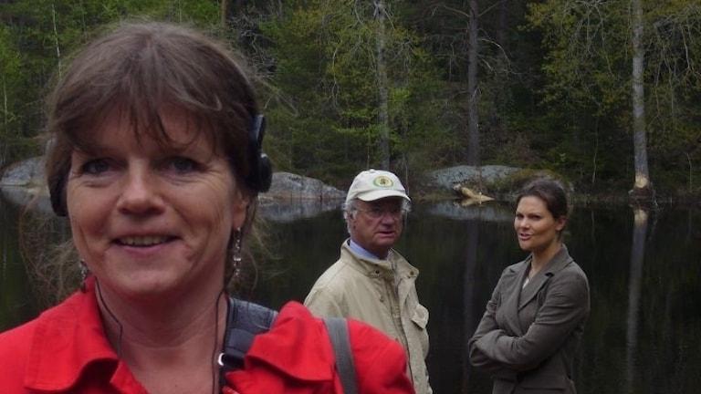 Lena Nordlund träffar kungen för Kossornas planet.