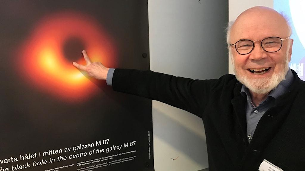 Bengt Gustafsson, professor emeritus vid Uppsala universitet.