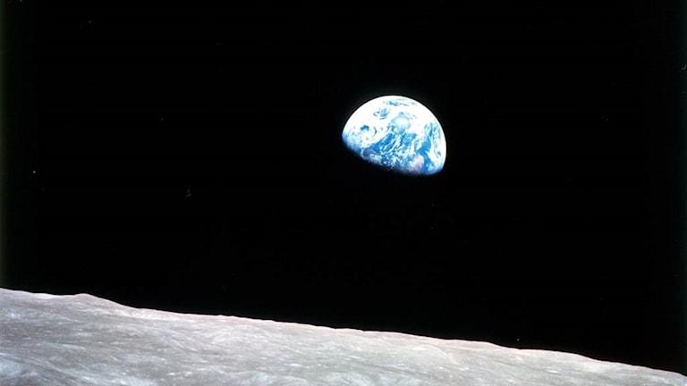 Utsikt mot jorden