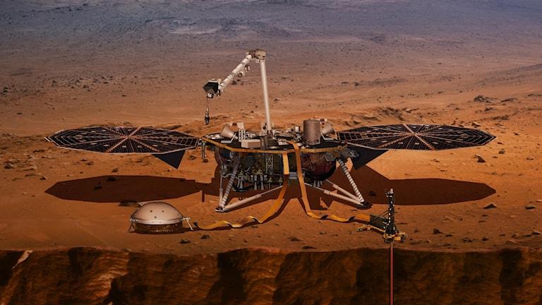 Under lördagen lyfter raketen Insight och tar sikte mot Mars.