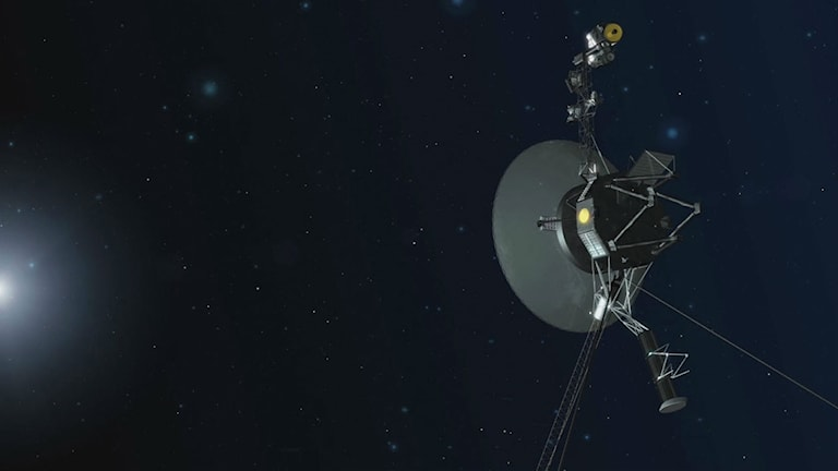 Rymdsonden Voyager 1 i rymden.