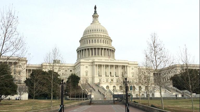 Kapitolium i Washington.