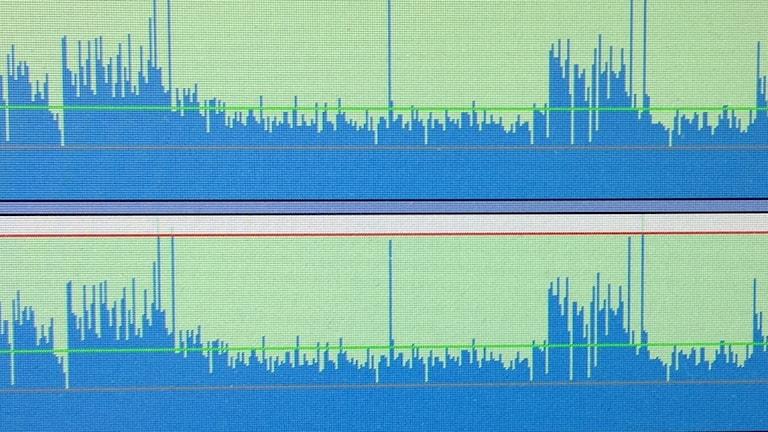 inspelat ljud, ljudvågor
