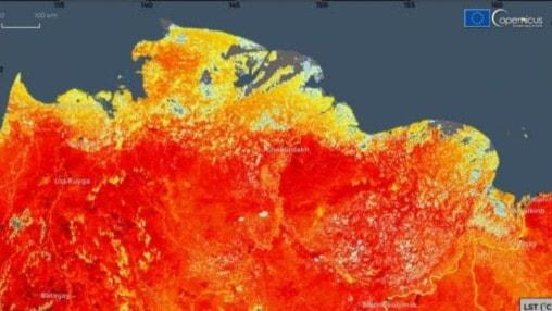 Extrem värme ger nya temperaturrekord och skogsbränder i Sibirien